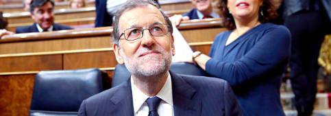 Foto de Rajoy imparte lecciones a Iglesias mientras el PSOE y Rivera se diluyen